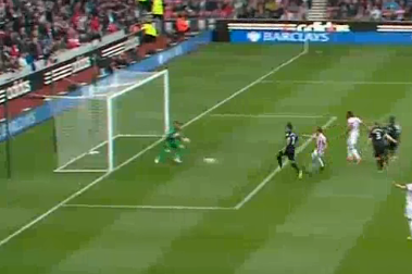Adams Strike Puts Stoke City in Front