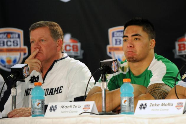 Brian Kelly: Manti Te'o a 'Great Fit' with Chargers