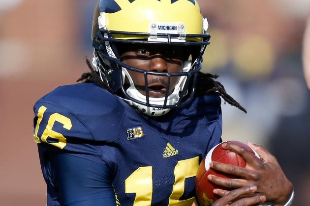 Denard Robinson: How Will Jacksonville's Newest WR/RB Fare in the Pros?
