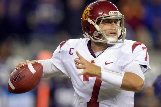 Eagles Pick USC QB Matt Barkley After Trading Up