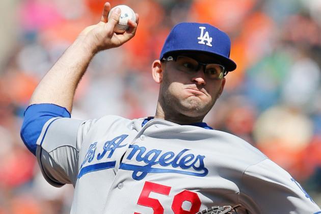 Dodgers Place Stephen Fife on DL; Matt Magill to Debut Tonight