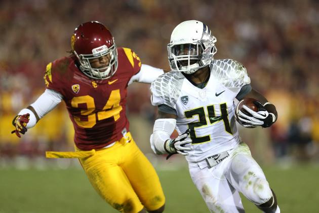 Kenjon Barner: How Will Carolina's Newest RB Fare in the Pros?