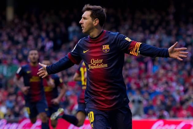 Magical Lionel Messi Can't Save Barcelona from UCL Hangover in Bilbao