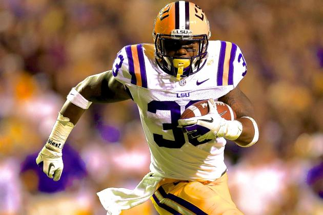 LSU Football: RB Jeremy Hill Reportedly Arrested on Battery Charge