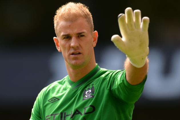 Platt Plays Down Joe Hart Injury Fears