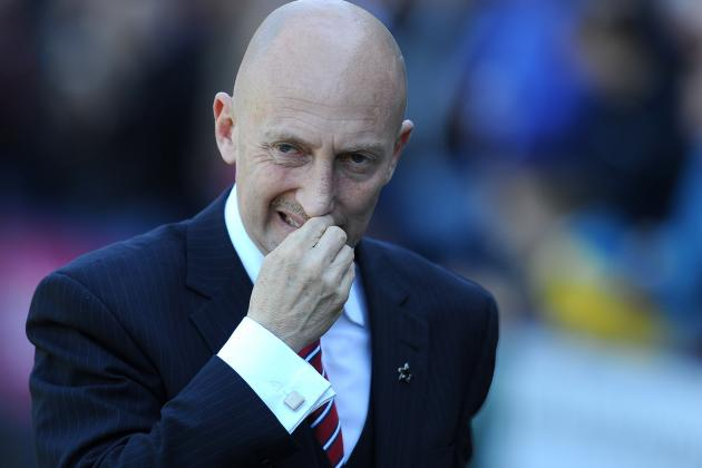 Crystal Boss Ian Holloway Accuses Blackburn of Cheating After 1-1 Draw