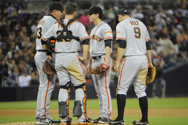 San Francisco Giants: Does It Matter Who Catches Tim Lincecum?