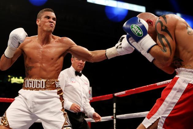 Amir Khan Survives Knockdown, Edges Julio Diaz