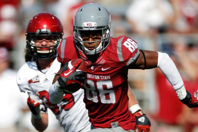 Marquess Wilson to Bears: How Does the Washington State WR Fit with Chicago?