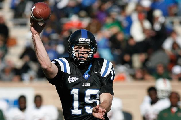 Sean Renfree Scouting Report: NFL Outlook for Duke QB