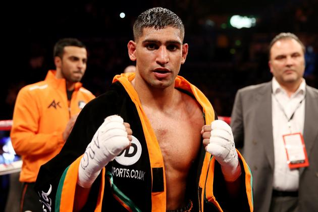 Amir Khan Still Has Much to Prove Even After Decision Win over Julio Diaz