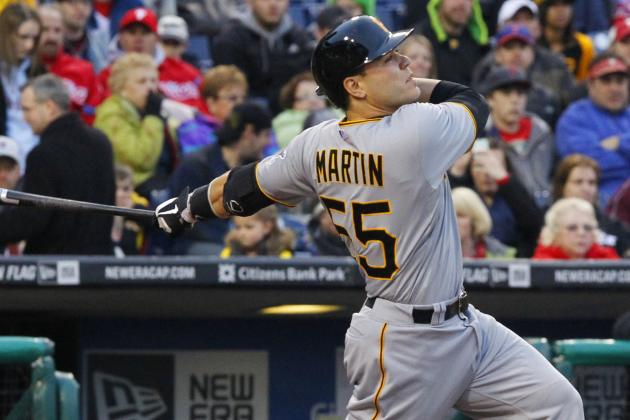 Martin's Homer Lifts Pirates over Cardinals