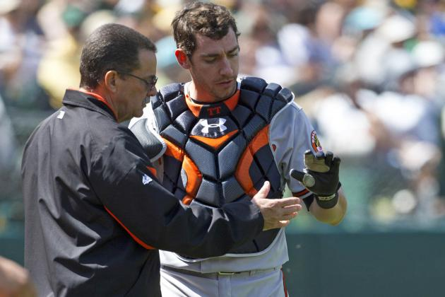 Taylor Teagarden to Miss Time with Fractured Thumb