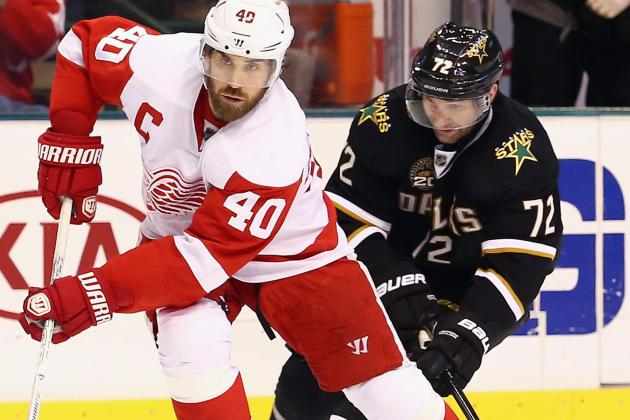 Red Wings in Playoffs for 22nd Consecutive Season After Beating Dallas, 3-0
