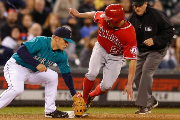 MLB Gamecast: Angels vs Mariners
