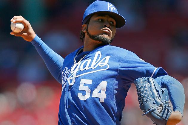 Santana Sharp as Royals Knock off Indians