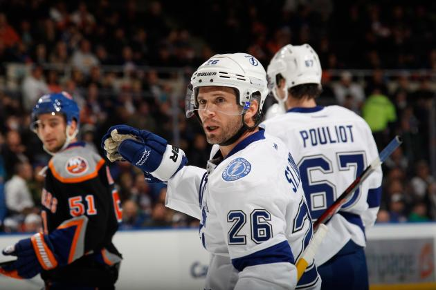 Martin St. Louis Becomes Oldest Player to Ever Win NHL Scoring Title