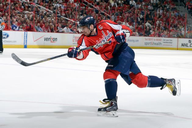 Ovechkin Wins Richard Trophy for Third Time