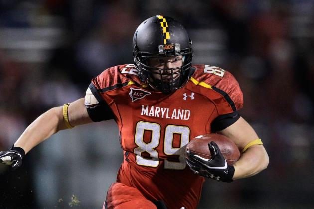 Maryland TE Matt Furstenburg to Sign with Ravens