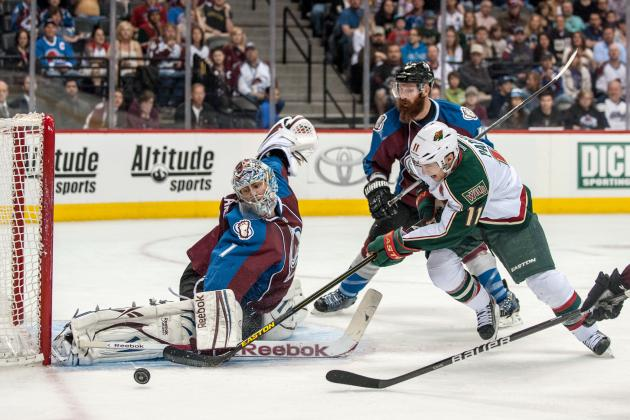 Wild Beat Avalanche, Clinch Playoff Berth