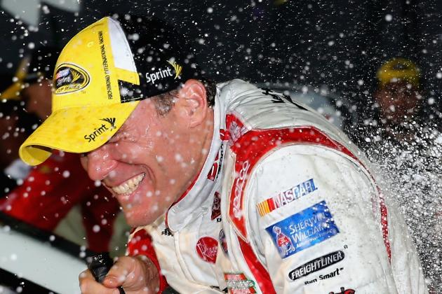 Harvick Wins Richmond After 2-Lap OT Sprint