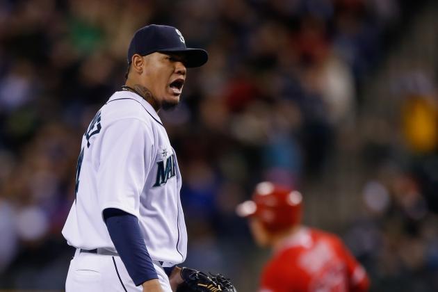 Morales, Hernandez Lead Mariners Past Angels