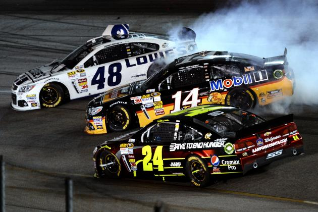 Smoke, Kyle Busch, Kes Struggle at Richmond