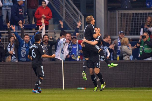 Sporting Kansas City Loses at Home, Despite Brace from Myers