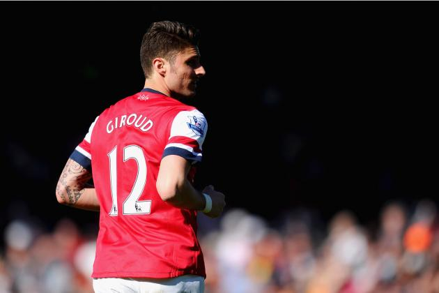 Breaking Down Olivier Giroud's 1st Season in the Premier League with Arsenal