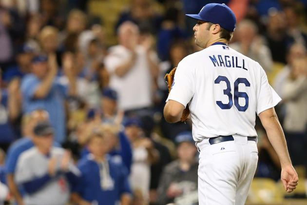 Brewers Rally for 6-4 Win, Spoil Matt Magill's Solid Dodgers Debut