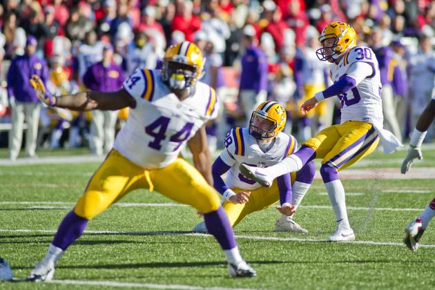 LSU Working on Non-Conference Football Matchup with Wisconsin