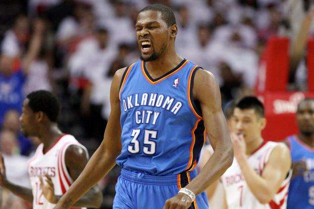 Kevin Durant Throws Down the Monster Jam on the Rockets(VIDEO)