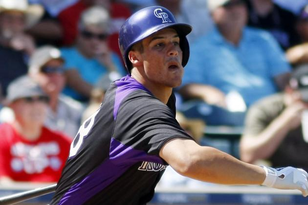 Rockies Promote Nolan Arenado, DFA Chris Nelson