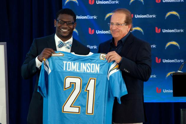 Chargers Approached LaDainian Tomlinson About 2013 Return