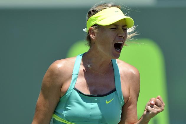 Sharapova Rolls Past Li in Porsche Grand Prix Final