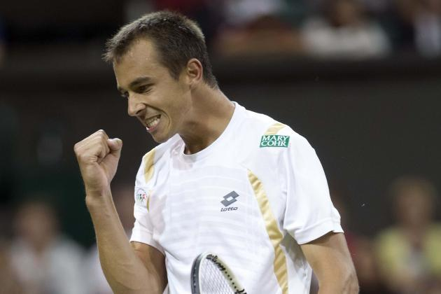 Big-Hitting Lukas Rosol with Breakthough Victory in Romania