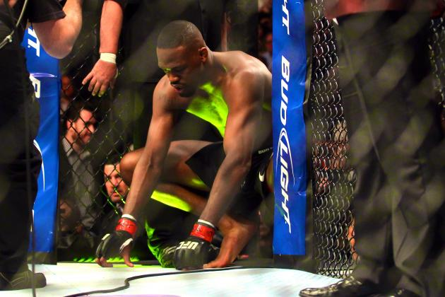 UFC 159 Medical Suspensions: Jon Jones Suspended Indefinitely
