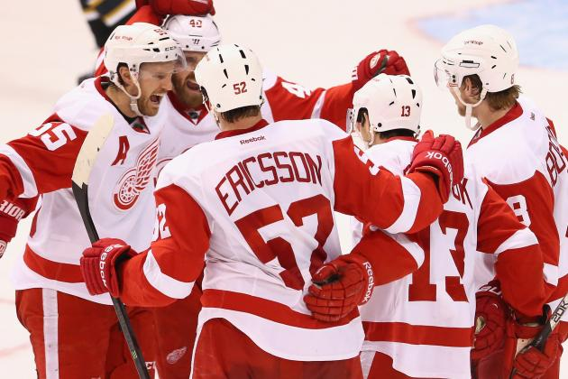 Detroit Red Wings: With Playoff Berth Acheived,  Is It Now Stanley Cup or Bust?