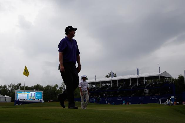 Play Suspended in 2013 Zurich Classic of New Orleans