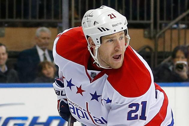 Brooks Laich Had Sports Hernia Surgery, Second Round Return Possible