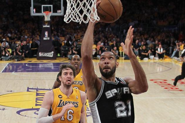 San Antonio Spurs vs. LA Lakers: Game 4 Preview, Schedule & Predictions