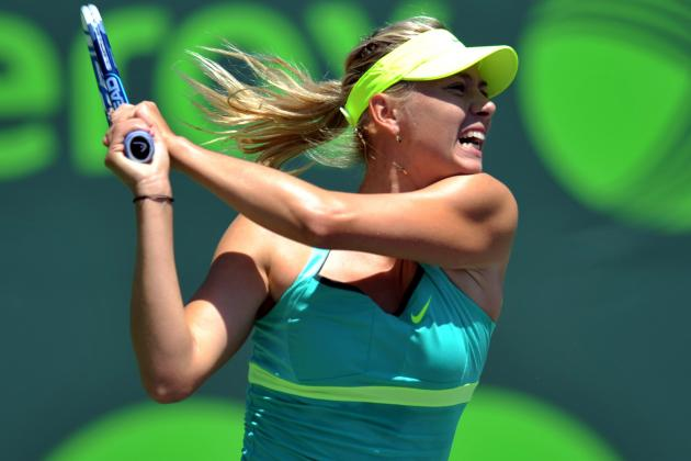 Maria Sharapova Defends Title with Straight Sets Victory