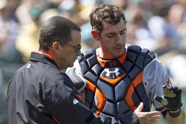 Taylor Teagarden to Miss Several Weeks