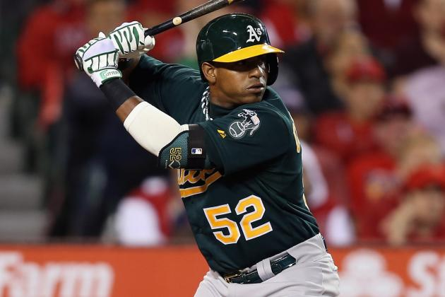 Yoenis Cespedes Returns to Lineup After Missing 14 Games