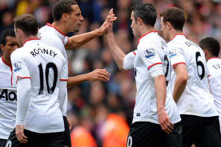 Arsenal V Man Utd: 28th Apr 2013   Report