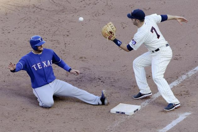 ESPN Gamecast: Rangers vs Twins