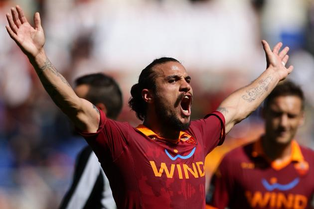 Roma's Osvaldo Nets Hat-Trick While His Future Remains Uncertain