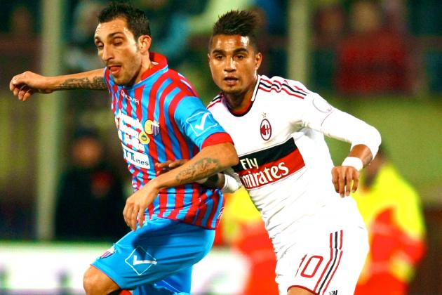 AC Milan vs. Catania: As It Happened