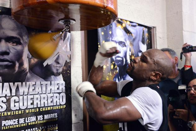 Mayweather vs. Guerrero: Complete Tale of the Tape