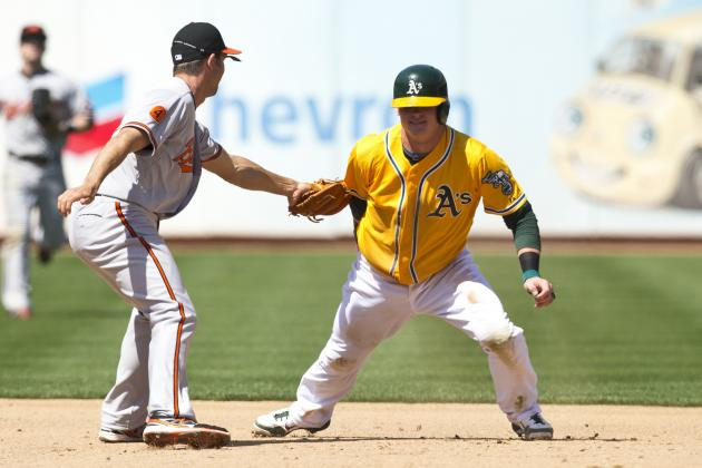 ESPN Gamecast: Orioles vs Athletics